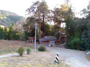 椎葉村 十根川神社