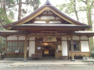 高千穂神社 神楽殿