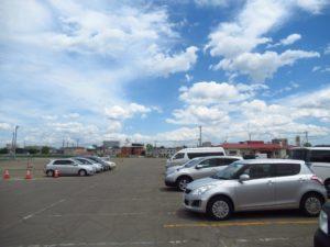 帯広競馬場 駐車場